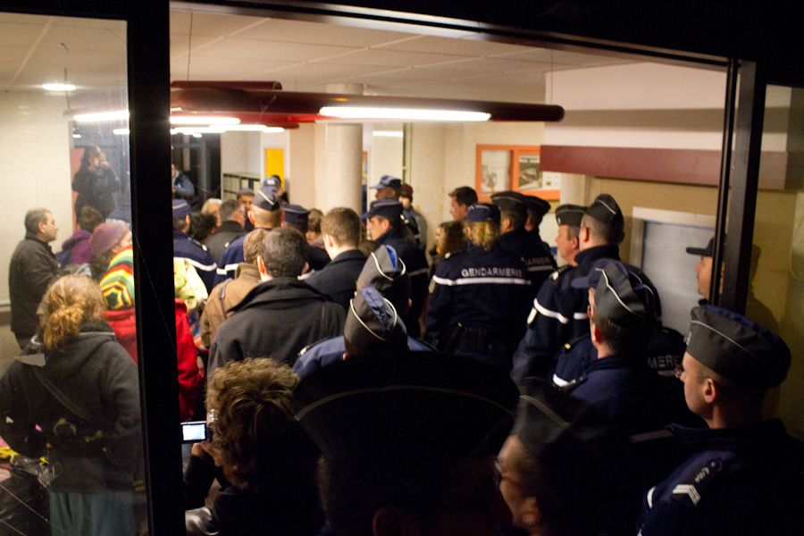 dernire nuit pac 16 gendarmerie intrieur
